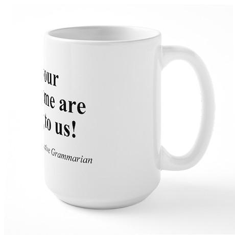 SpecGram Morpheme Large Mug