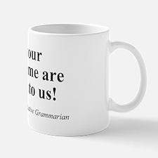 SpecGram Morpheme Mug