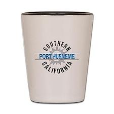 Port Hueneme California Shot Glass