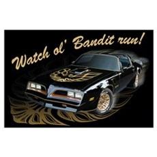 Watch ol' Bandit Run Poster