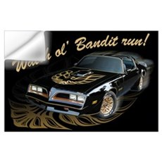 Watch ol' Bandit Run Wall Decal