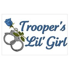 Trooper's Lil Girl Poster