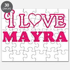 I Love Mayra Puzzle