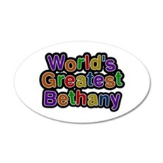 World's Greatest Bethany Wall Decal