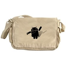 Android Dance Messenger Bag