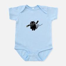 Android Dance Infant Bodysuit