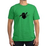 Android Dance Men's Fitted T-Shirt (dark)