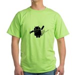 Android Dance Green T-Shirt