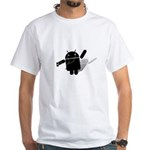 Android Dance White T-Shirt
