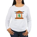 Corporate Lobbying Women's Long Sleeve T-Shirt