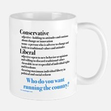 Conservatives/Liberals Mug