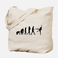 Evolution of Ballet Tote Bag