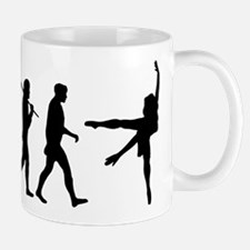 Evolution of Ballet Small Small Mug