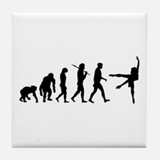 Evolution of Ballet Tile Coaster