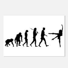 Evolution of Ballet Postcards (Package of 8)