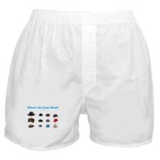 Jewish Headcoverings Boxer Shorts