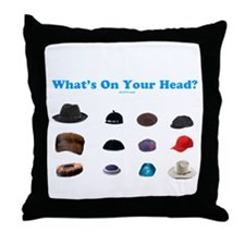 Jewish Headcoverings Throw Pillow