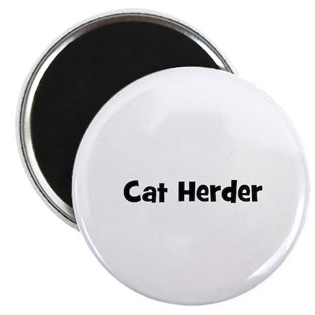 Cat Herder Magnet