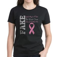 Yeah Fake Breast Cancer Tee