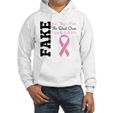 Yeah Fake Breast Cancer Jumper Hoody