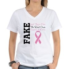 Yeah Fake Breast Cancer Shirt