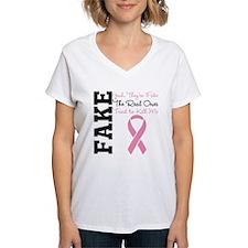 Yeah Fake Breast Cancer Shirt