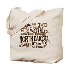 North Dakota (Funny) Gift Tote Bag
