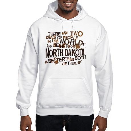 North Dakota (Funny) Gift Hooded Sweatshirt