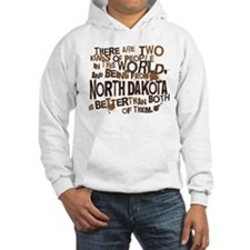 North Dakota (Funny) Gift Hoodie
