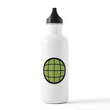 Captain Planet Globe Logo Water Bottle