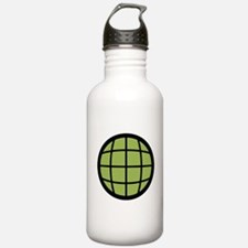 Captain Planet Globe Logo Water Bottle
