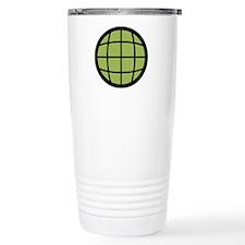 Captain Planet Globe Logo Travel Mug