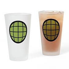 Captain Planet Globe Logo Drinking Glass