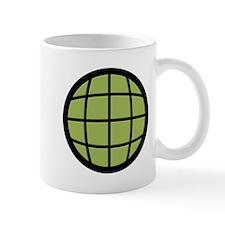 Captain Planet Globe Logo Mug