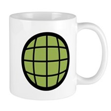 Captain Planet Globe Logo Mug