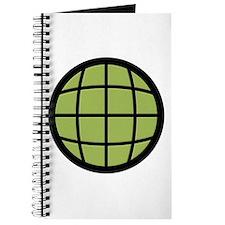 Captain Planet Globe Logo Journal