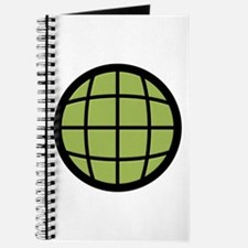 Captain Planet Globe Logo Journal