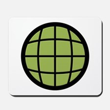 Captain Planet Globe Logo Mousepad