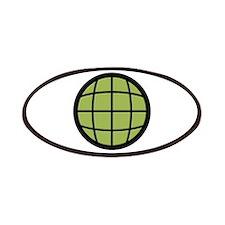Captain Planet Globe Logo Patches