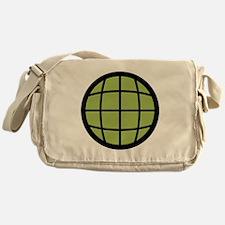 Captain Planet Globe Logo Messenger Bag