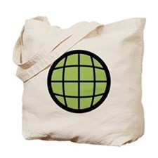 Captain Planet Globe Logo Tote Bag
