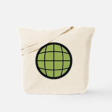 Captain Planet Globe Logo Tote Bag