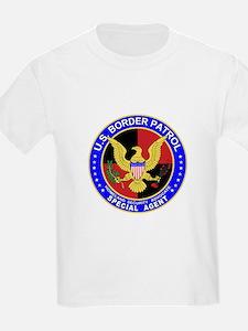 mx1 US Border Patrol SpAgent Kids T-Shirt