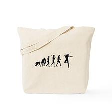 Male Dancer Tote Bag