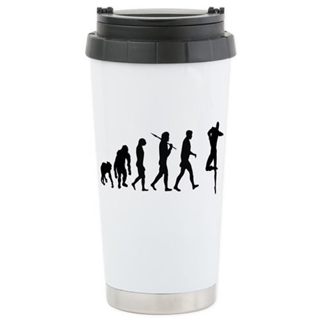Male Dancer Stainless Steel Travel Mug