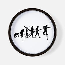 Male Dancer Wall Clock