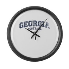 Georgia Football Large Wall Clock