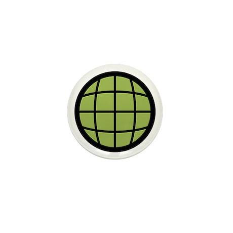 Captain Planet Globe Logo Mini Button (100 pack)
