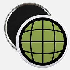 """Captain Planet Globe Logo 2.25"""" Magnet (100 pack)"""