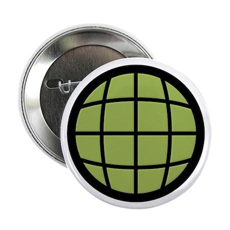 "Captain Planet Globe Logo 2.25"" Button (100 pack)"